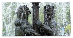 Bear Fountain Beach Towel
