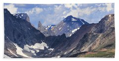 Beartooth Mountain Beach Towel