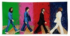 Beatles Crossing Beach Towel