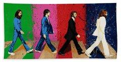 Beatles Crossing Beach Sheet