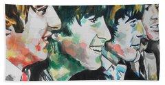 The Beatles 02 Beach Sheet