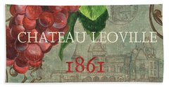 Beaujolais Nouveau 1 Beach Towel by Debbie DeWitt