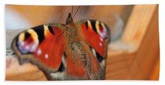Beautiful Butterfly Beach Sheet