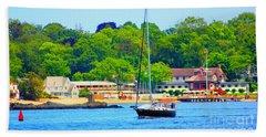 Beautiful Day For Sailing Beach Sheet