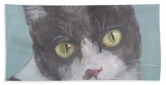 Beautiful Eyes Beach Towel