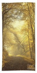 Beautiful Fall Beach Towel