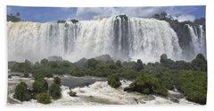 Beautiful Iguazu Waterfalls  Beach Sheet