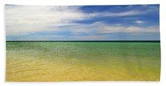 Beautiful St George Island Water Beach Towel
