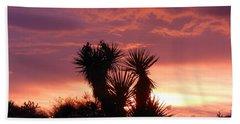 Beautiful Sunset In Arizona Beach Towel