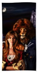 Beauty And The Beast Beach Towel