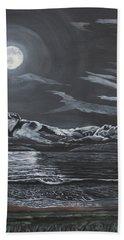 Beauty Of The Night Beach Towel