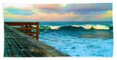 Beauty Of The Pier Beach Towel