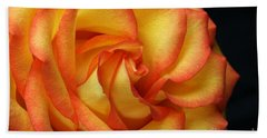 Beach Towel featuring the photograph Beauty Unfolds by Judy Whitton