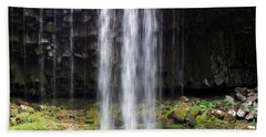 Beach Towel featuring the photograph Beaver Falls by Chalet Roome-Rigdon