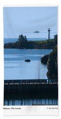 Beaver Harbour Nb Canada Beach Towel