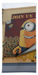 Become A Minion Beach Sheet by David Nicholls