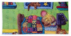 Bedtime Mouse Beach Towel