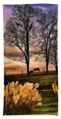 Bedtime Snackin Beach Towel by Robert McCubbin