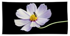 bee and Wildflower Beach Towel