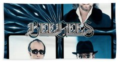 Bee Gees I Beach Towel