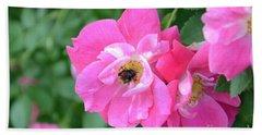 Bee Rosy Beach Sheet