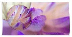 Bee's Eye View Beach Towel by Susan Maxwell Schmidt