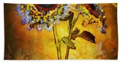 Bees To Honey Beach Towel