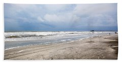 Beach Sheet featuring the photograph Before The Storm by Sennie Pierson