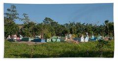 Belize Cemetery Beach Towel