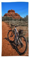Bell Rock Trail Beach Towel by Jason Abando