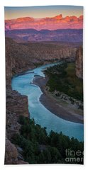 Bend In The Rio Grande Beach Towel