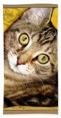 Bengal Cat Kitten Beach Towel
