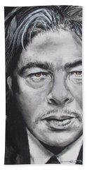 Benicio Del Toro Beach Sheet