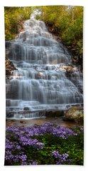 Benton Falls In Spring Beach Towel