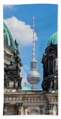 Berlin Catherdral Beach Towel
