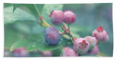 Berries For You Beach Towel by Rachel Mirror