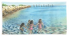 Best Friends Beach Towel by Troy Levesque