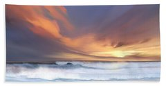 Beach Towel featuring the digital art Best Of Days by Anthony Fishburne