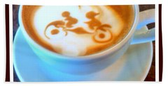 Bicycle Built For Two Latte Beach Sheet