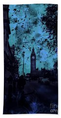 Big Ben Street Beach Towel