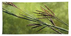 Big Bluestem In Bloom Beach Sheet