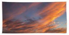 Big Bold Sunset Beach Towel