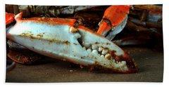 Big Crab Claw Beach Towel