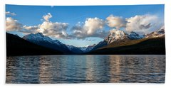 Beach Towel featuring the photograph Big Sky by Aaron Aldrich