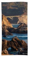 Big Sur Coastal Serenity Beach Towel