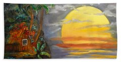 Magical Sunser Jenny Lee Discount Beach Towel