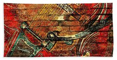 Bigsby Faux Mural Beach Towel