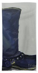 Biker Boot Beach Towel