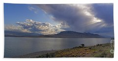 Beach Sheet featuring the photograph Bill Cody Reservoir - 25x76 by J L Woody Wooden