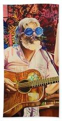Bill Nershi At Horning's Hideout Beach Towel by Joshua Morton